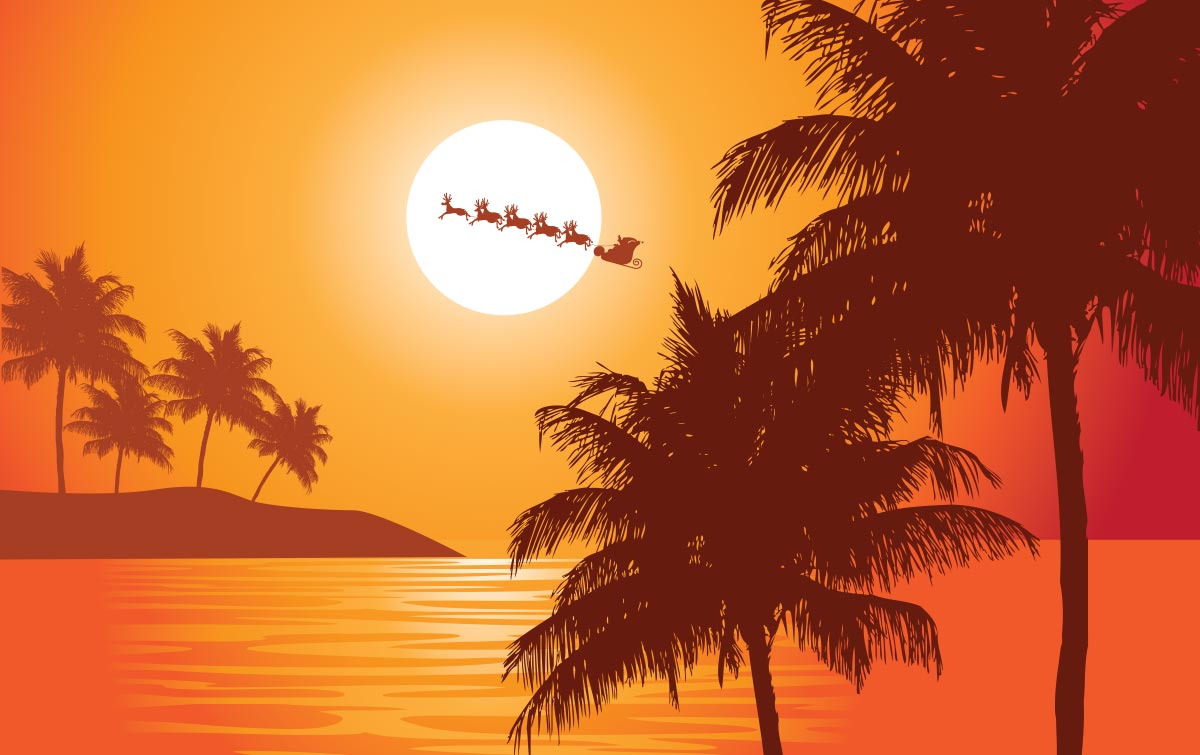 Christmas in polynesia sunrise marketplace